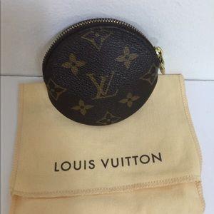 Louis Vuitton Round Coin Purse